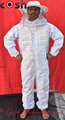 Semi Ventilated Mesh 3 Layer Beekeeping Suit Round Style Veil Supplier