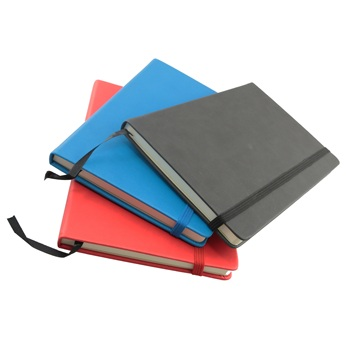 A/5 Diary Leather Cover With Elastic Band Closure Leather Diary