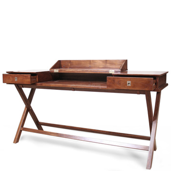 Trump Office Desk With Folding Top Solid Teak Wood