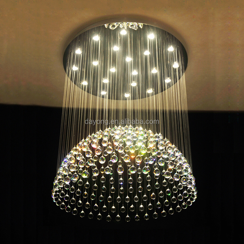 Half Circle Popular Chandelier for Wedding Home Hotel Restaurant