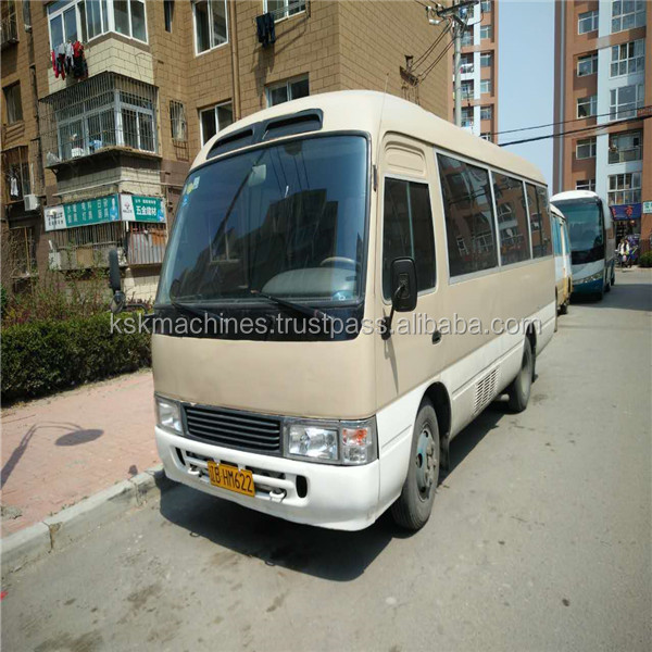 Shanghai cheap price Japan used coaster mini bus for sale