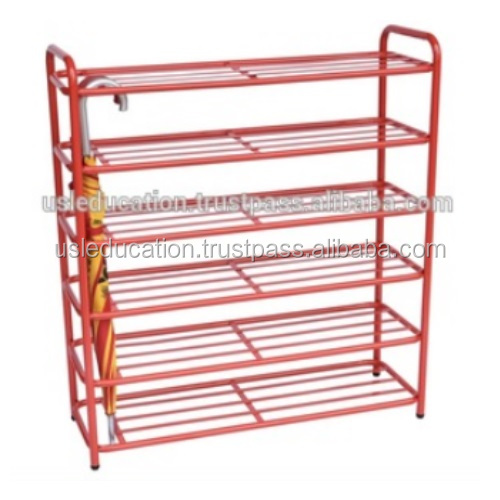 Metal Shoe Rack with Umbrella Holder Cabinet Kindergarten Furniture Malaysia