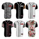 Custom Baseball Uniforms /Custom Baseball Jerseys/Sublimation print baseball jersey