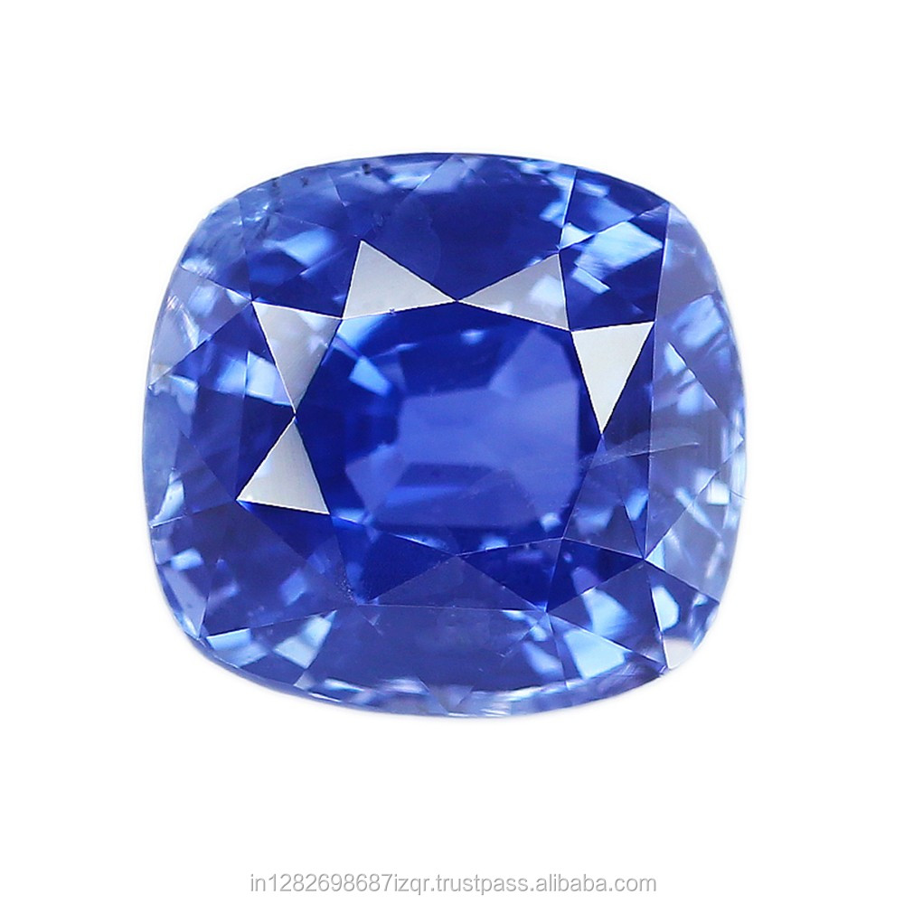 Good Quality Lustrous Loupe Clean Cushion 18.60 Natural Ceylon Blue Sapphire With Free ITLGJ Lab Certificate