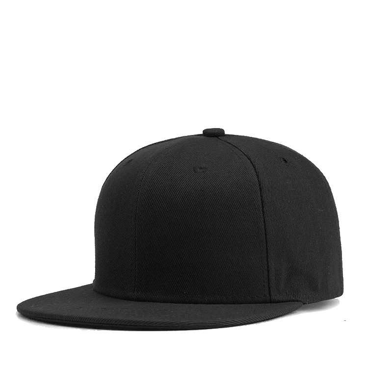 wholesale Amazon high quality custom logo hip-hop hats blank plain snapback <strong>caps</strong>