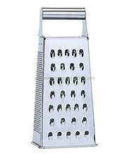 Stainless Steel Kitchen Food Grade Multi function Grater For Cheese And Vegetable