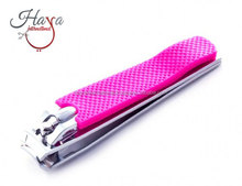 HINC22 Top Quality Pink Nail Clipper With Catcher Nail Cutter