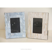 Factory supply Mother of pearl inlay exquisite decor picture frame for sales