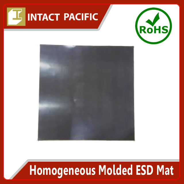Homogeneous Molded ESD Mat High quality for Expert use in Semiconductor Production Black Silicone / NBR Rubber
