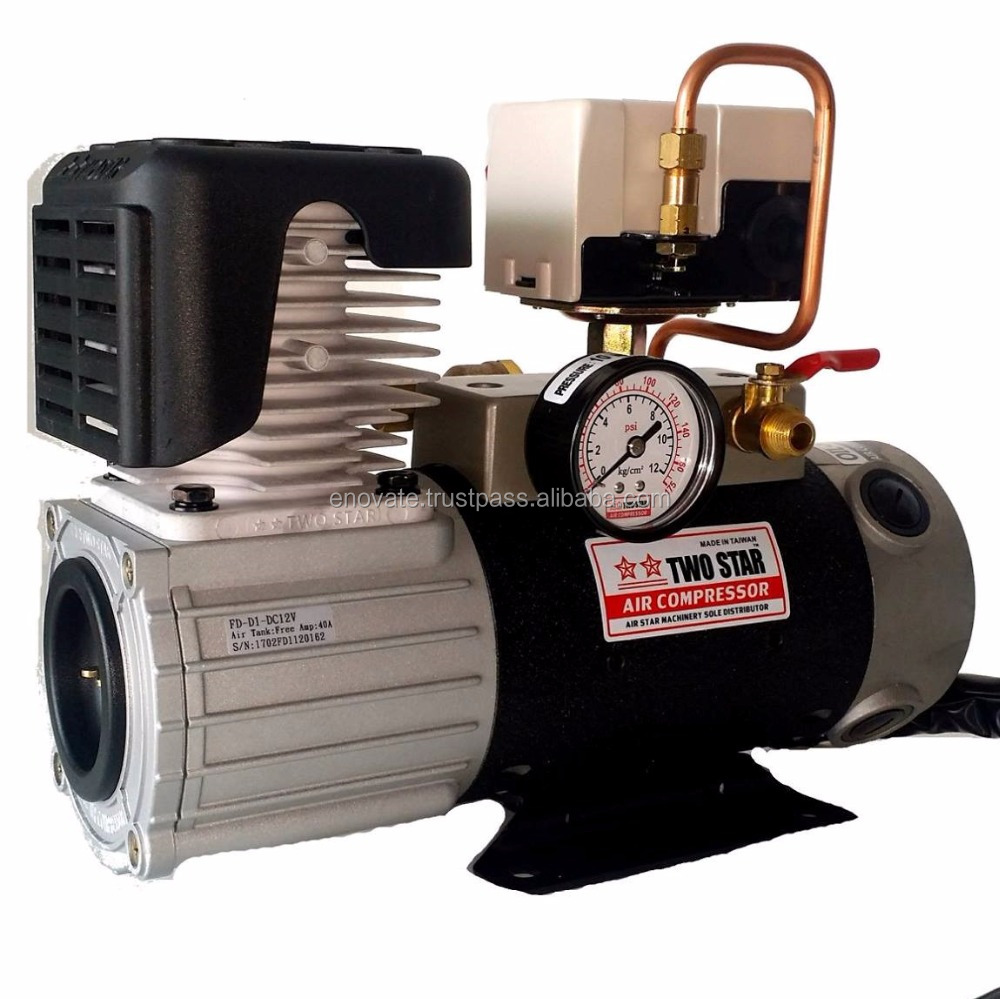Manufacturer Price Taiwan Made 24V DC Oil Free mini Air Compressor