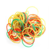High quality durable mix color elastic natural rubber band for money and any purposes