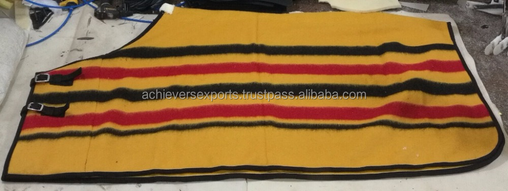 Woolen Horse Rug | Equestrian Equipment for Wholesale