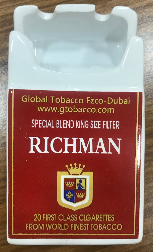 Richman Cigarettes KingSize w Ashtray