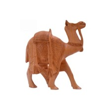 INDIAN WOODEN CARVING CAMEL