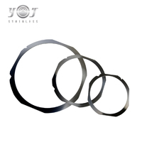 6 8 12 Inch Steel Disco Wafer Ring Frame For Semiconductor