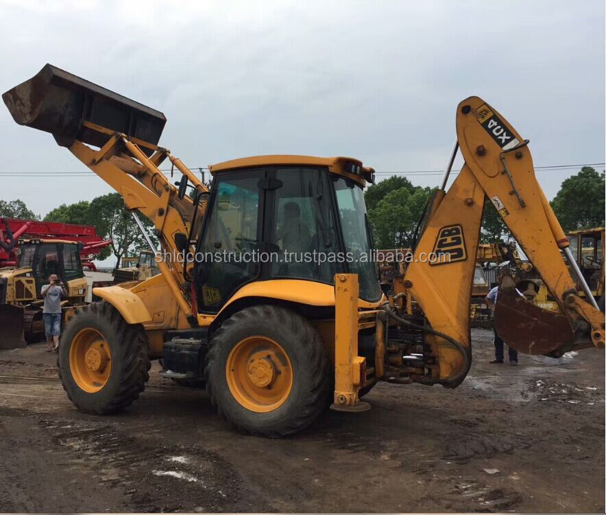 Used JCB 4CX backhoe, JCB4CX 3CX backhoe loader good condition
