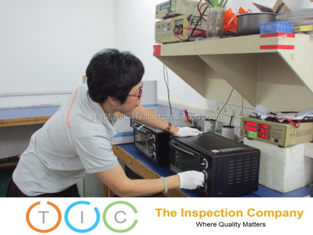Pre Shipment Inspection service Microwave Oven in Cambodia