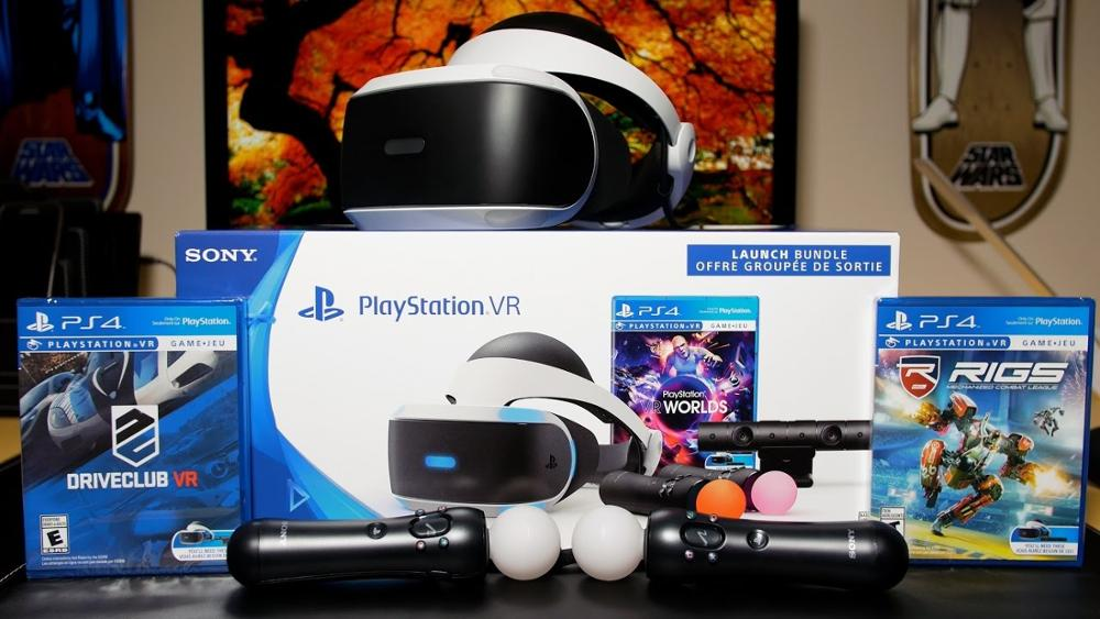 Buy SONY PLAYSTATION 4 Virtual Reality 1TB Bundle Console 15 Games 2 Controllers BUY 10 GET 6 FREE