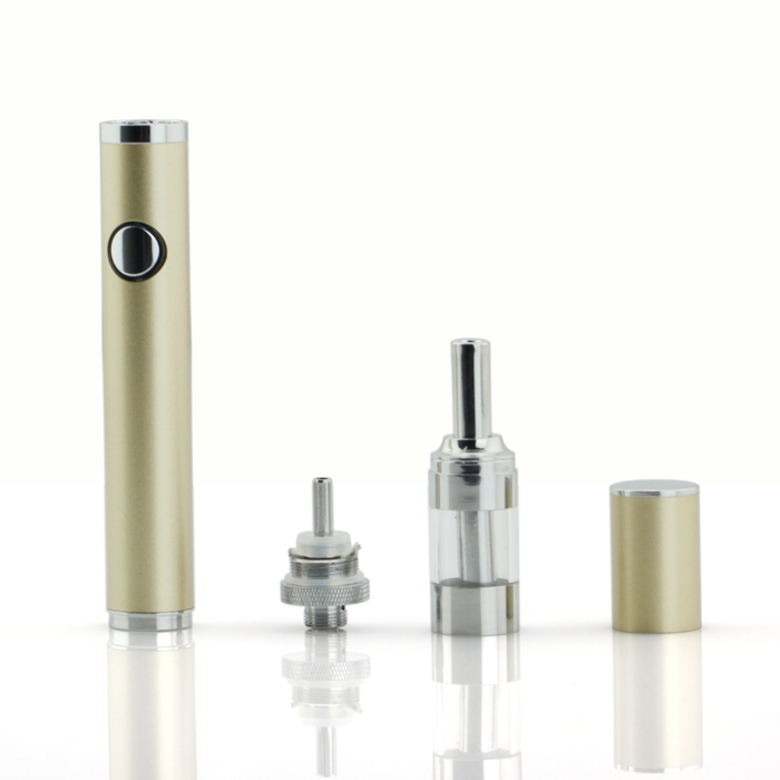 Easy to carry and good protection stainless steel material kamry 1.0 lady like e cigarette with 1.5ml tank
