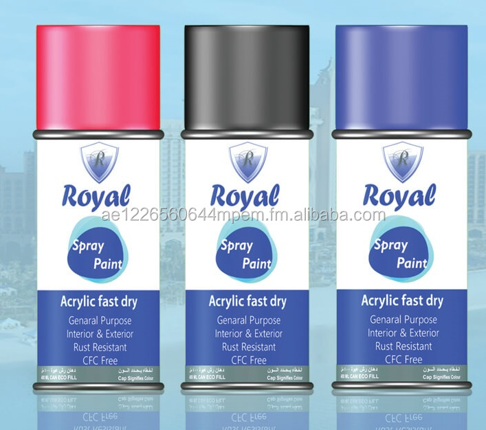 Royal Spray Paint for multi purposes