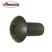 High strength strip-proof hexagon button head bolt for car parts , screws also available