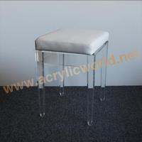 Clear Perspex stacking cheap wedding acrylic crystal chairs