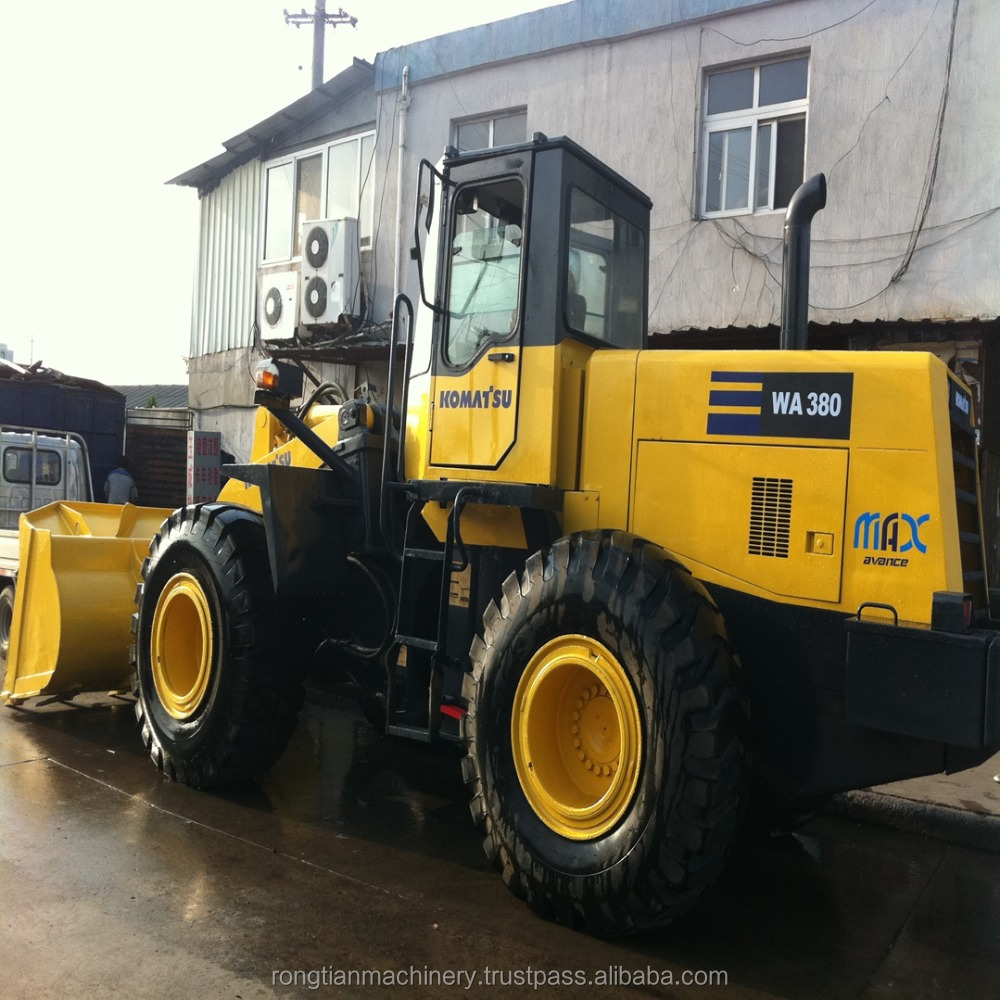 used Komatsu wa380 wheel loader, used wa380 wheel loader