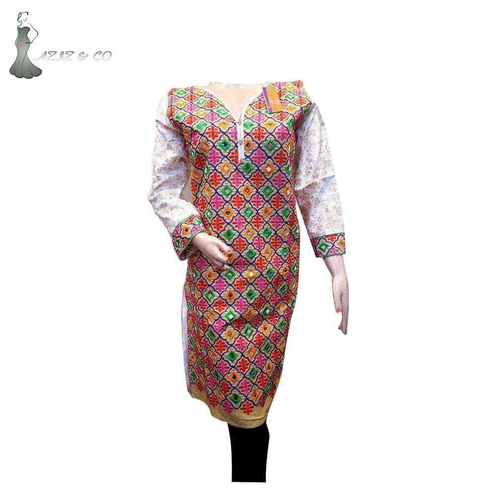 New Arrival 2018 Indian Cotton\ Casual Wear Dress
