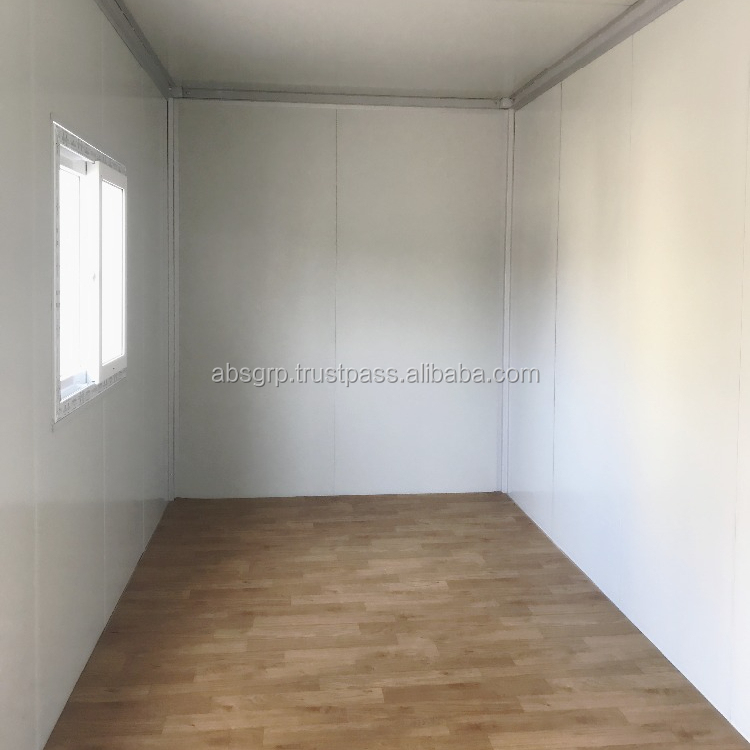 High standard prefabricated container house for luxury 20ft living container house designs of houses/office