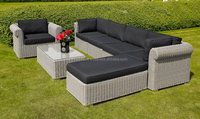 Outdoor Furniture Modular Sofa Set PE Rattan Garden Furniture New Arrival 2018