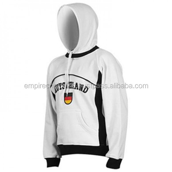Customized color Wholesale Blank Pullover Hoodies.