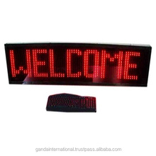 led Message Moving Display Board