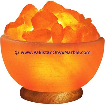 SUPERIOR QUALITY HIMALAYAN IONIC SALT CRYSTAL BOWL LAMP