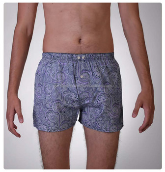 Purple Paisley Boxer Short, Men' s under wear, unther hose, custom Boxer shirt, boxeador, Boxer production, boxeador