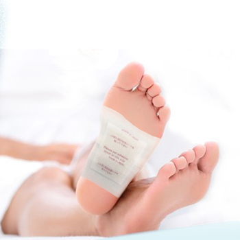 Feet Detox Sap Sheet. Wood vinegar, charcoal, herbal. Made in Japan, low MOQ, OEM available