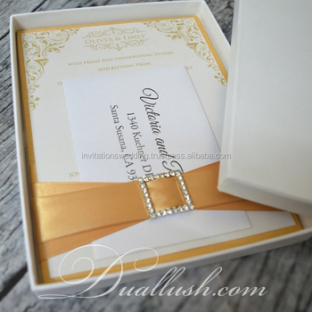 Wedding Invitations Luxury Wedding Invitation Card Silk Box Wedding Invitations Wholesale