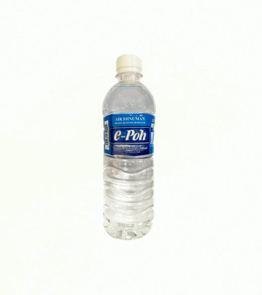 e-Poh Drinking Reverse Osmosis (RO) Water - 500ml