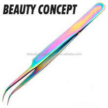 Eyelash Extension/Nail Art/Jewelry Tool Professional Curved Straight Tweezers