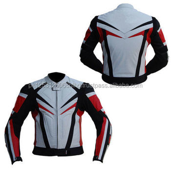 Mens Super Quality Motorbike Riding Leather Jacket