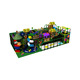 kids colorful game area with jungle theme plastic eco-friendly slide and ball pool indoor playground