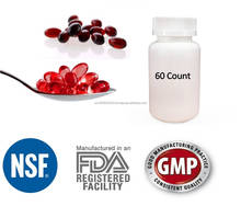High Quality Pure North Pacific Ocean Red Krill FDA Registered GMP Certified Soft Gel 1000mg Heart Health Omega 3 Made in USA