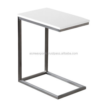 Stainless Steel Coffee Shop Table | Marble Top Coffee Table