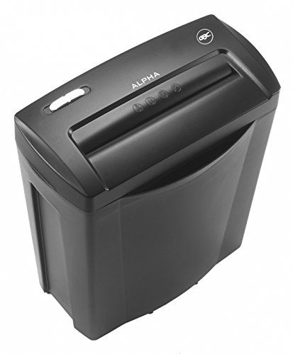 GBC Alpha Confetti Paper/Credit Card Shredder, Cross Cut, 5 Sheet Capacity (G2102023EU)