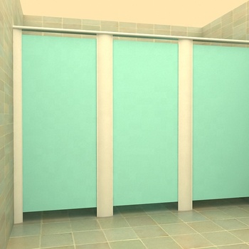 Waterproof graceful office washroom partition