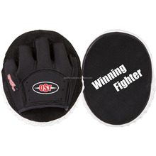 Curved Focus Pads Mitts / Kick Boxing Gloves / Custom Focus Pads