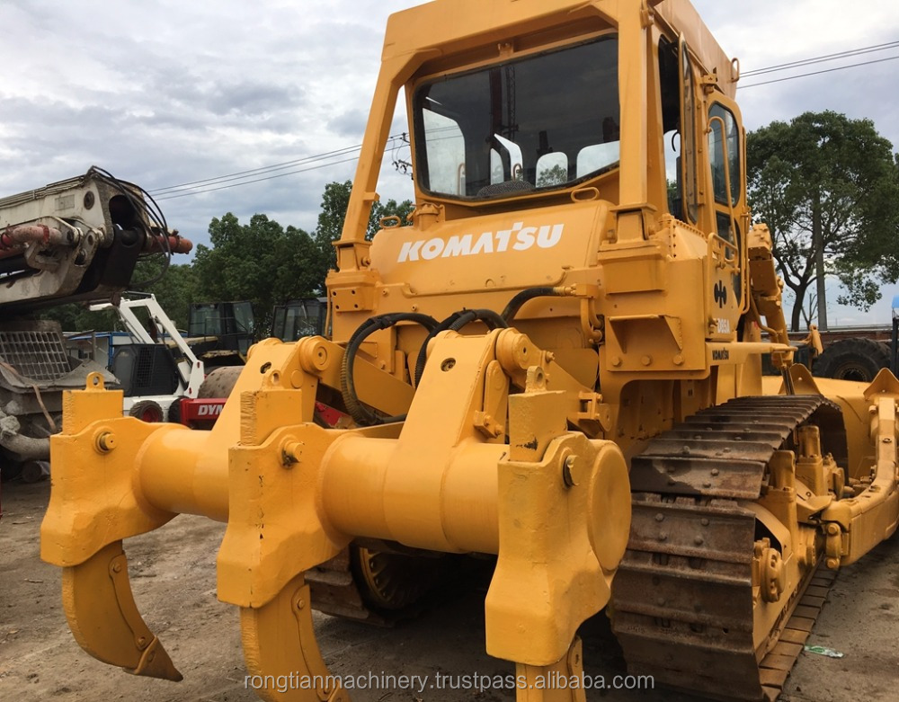 Fuel-efficient komatsu machine D85 bulldozer for sale, used komatsu bulldozer at low working hours