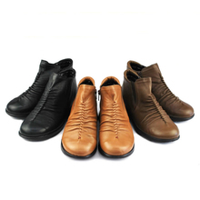 Elegent genuine leather used ladies winter women boots 2017 by skilled supplier