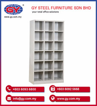 OEM Design High Quality Steel 18 Pigeon Hole and Rack for Office and School Cabinet - GY406