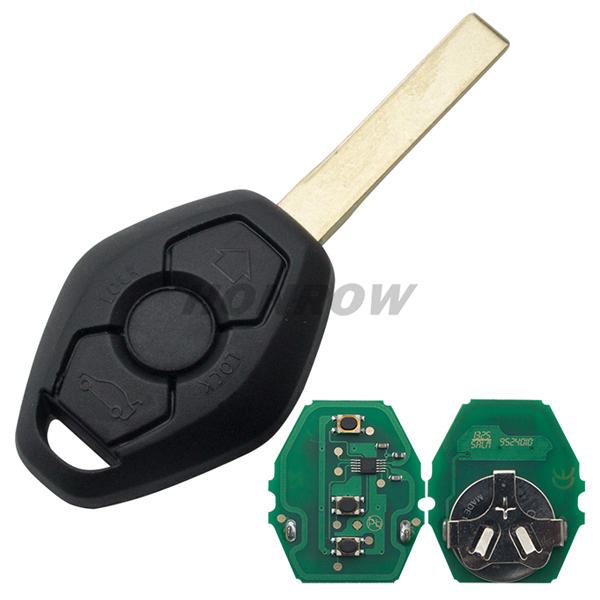 3 button remote <strong>key</strong> with 2 track blade 7935 chip 315MHZ car <strong>key</strong> Honrow