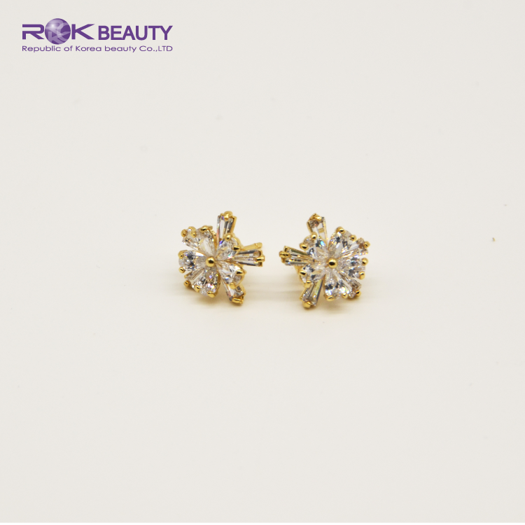 ROK KOREA OTE STUD DROP EARRINGS SERIES 180-187 18K GOLD PLATING WOMEN FASHION JEWELRY ACCESSORY